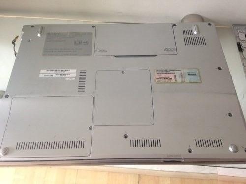 vaio vgn-fz150fe pcg391p laptop para refacciones