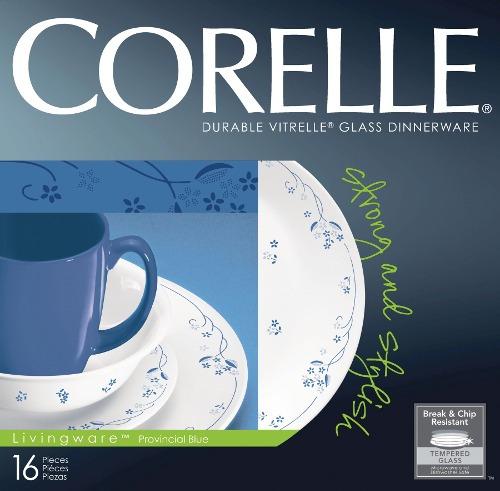 vajilla 16 piezas provincial blue corelle - 1031830