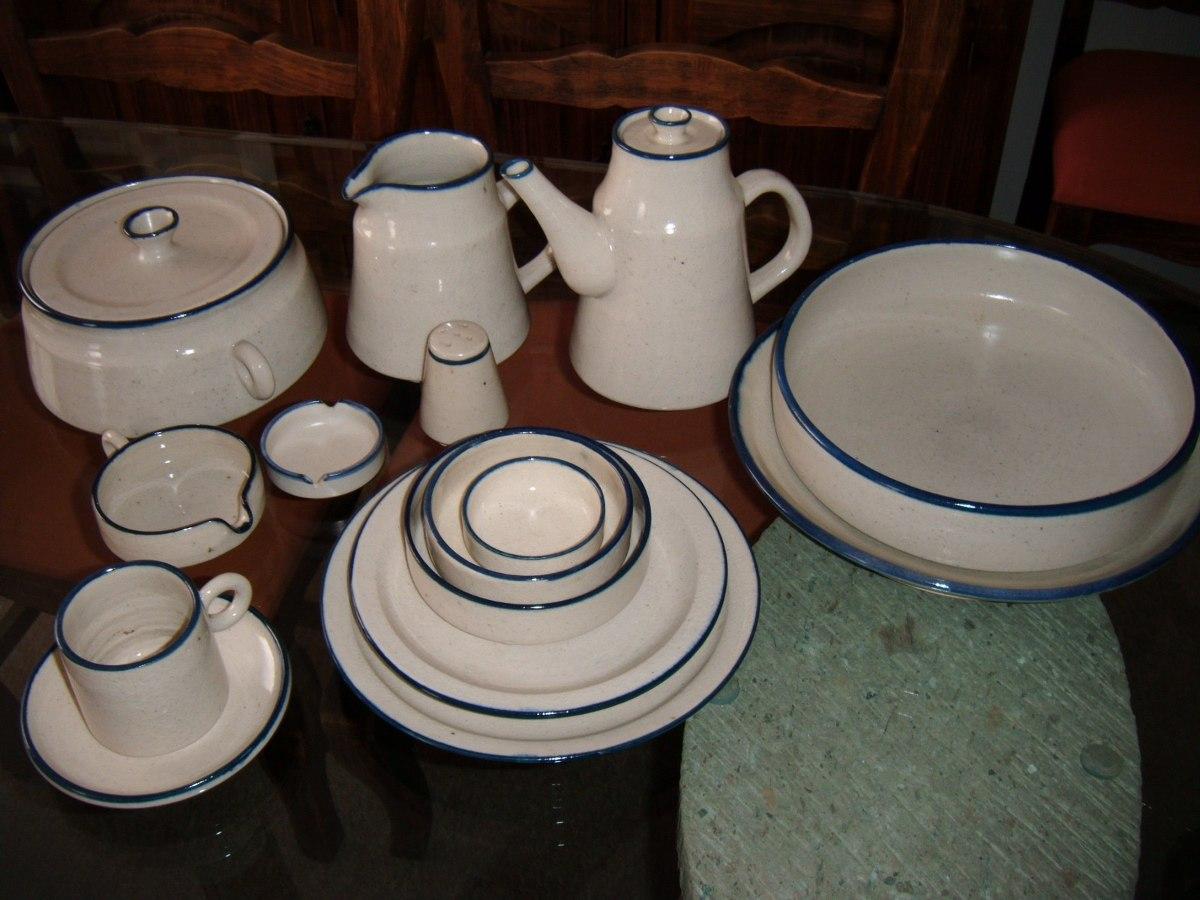 Vajilla de cer mica artesanal para 6 personas 50 pzas 2 en mercado libre - Vajilla ceramica artesanal ...