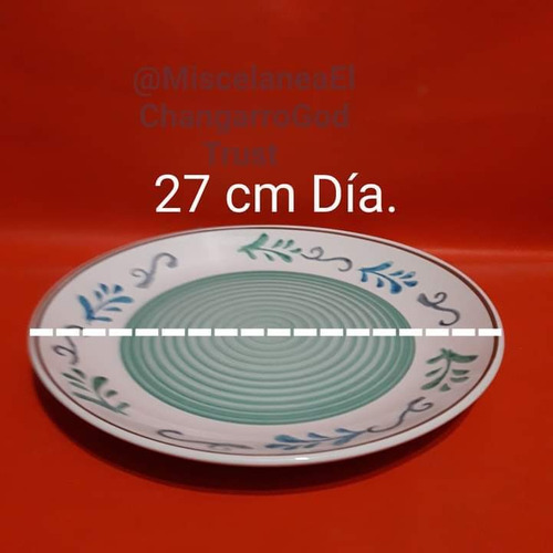 vajilla de ceramica para 4 personas de 12 piezas. nueva. co