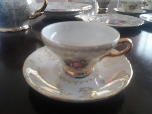 vajilla de porcelana japonesa 24 piezas 6 personas te o cafe