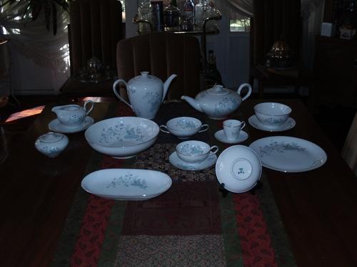 vajilla de porcelana rosenthal para 12 personas 170 pzas.