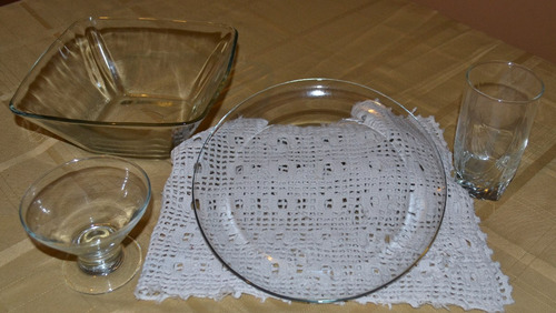 vajilla de vidrio