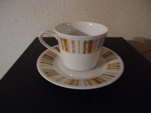 vajilla legitima japonesa noritake taza con plato.