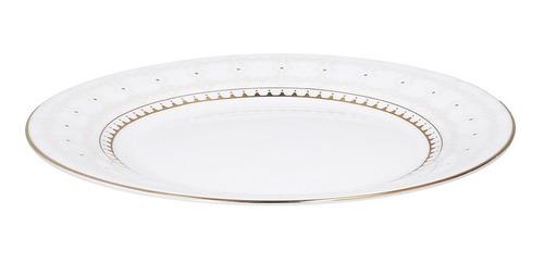 vajilla opal glass elegante set circular 20 piezas