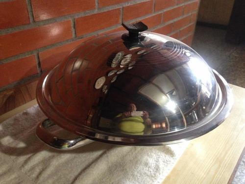 vajilla oxford parrilera cámara  cannon wok