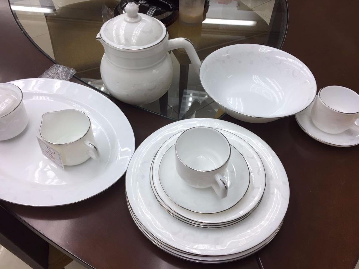 Vajilla porcelana u s 190 00 en mercado libre for Vajilla porcelana