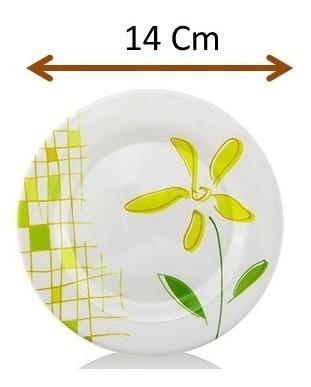 vajilla redonda de melamina 20 piezas modelo lilly