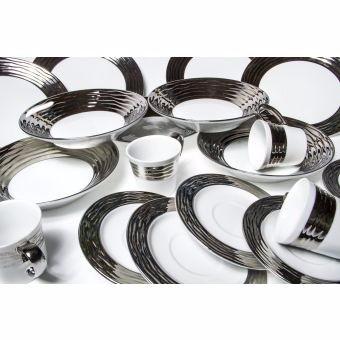 vajilla silver premium marca belia