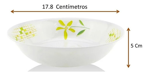 vajilla tipo plástico de melamina redonda  20 piezas lilly