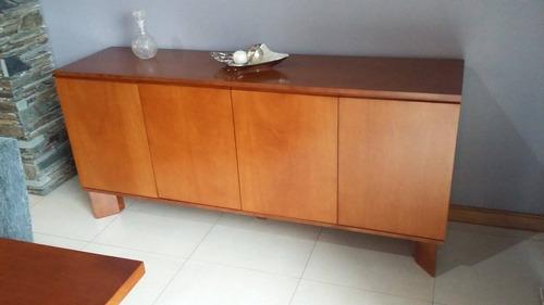 vajilleros muebles bajo para comedor lustrado poli a medida