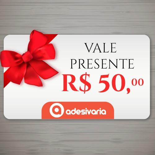 a5c6648f1 Vale Presente R$ 50 - R$ 50,00 em Mercado Livre