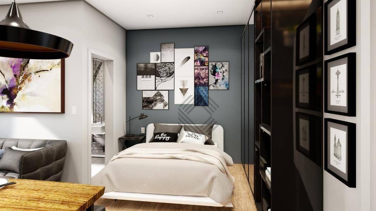 vale verde das araucárias - apartamento com 1 dormitório à venda, 25 m² por r$ 98.900 - jardim betânia - sorocaba/sp - ap8077