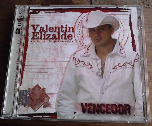 valentin elizalde vencedor cd y dvd 1a ed 2006 c/booklet mdn