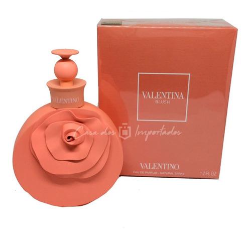 valentina blush 50ml   original + amostra de brinde