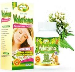 valeriana antiestres natural plus cap x 100 ext x 500ml