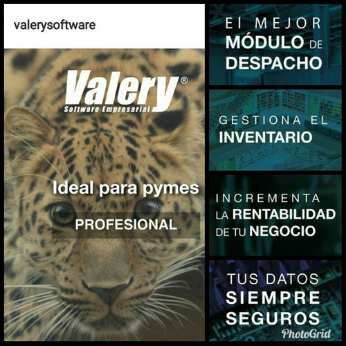 valery sistema administrativo