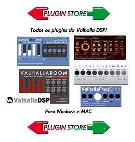 Valhalla Dsp - Todos Os Plugins - Plugin Vst - Win E Mac