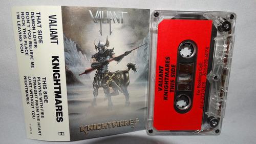 valiant - knightmares (carcasa:ex - inserto:ex)