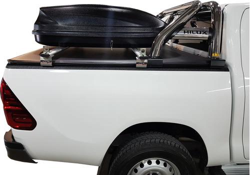 valija + barras alum porta equipaje amarok ranger hilux s10