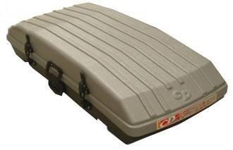 valija baúl de techo vehículos 132 litros con cerradura cd