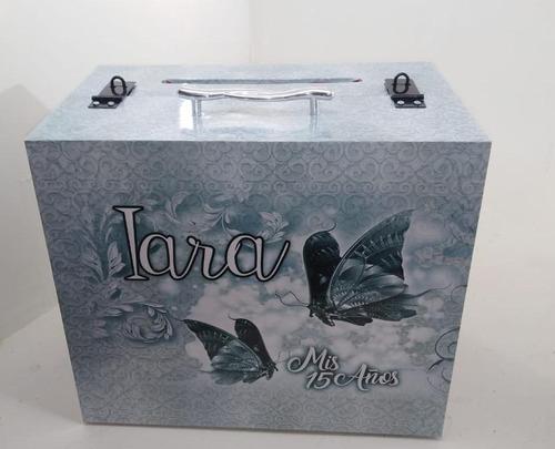 valija buzón, urna, 15 años viajes, boda casamiento regalos
