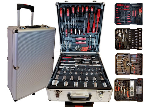 valija caja herramientas accesorios 386 pzas completa oferta