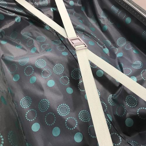 valija chica carry on de mano cabina rígida plástico abs resistente fuelle expansible candado incorporado importador