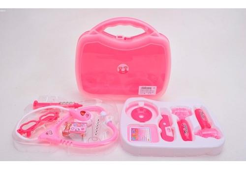 valija de doctor con luz y sonido rosa 1816912 e.full