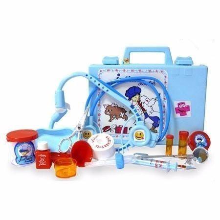 valija de juguete julian doctor 17 accesorios