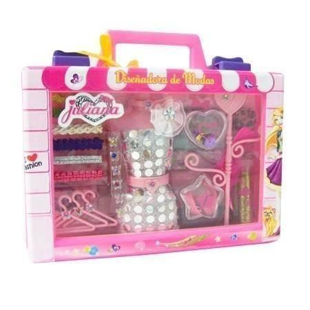 valija de juliana  diseñadora de modas juguetes nenas