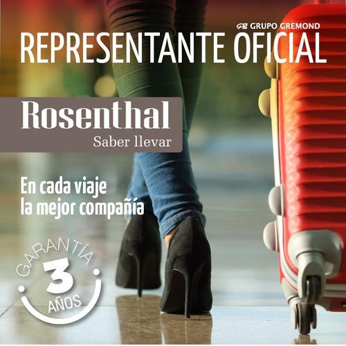 d5a3e8387 Valija De Viaje Grande 28´ Rosenthal 4 Ruedas Maletas Outlet ...