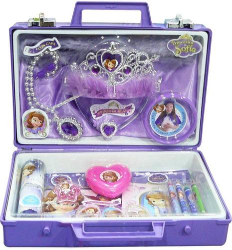 valija disney princesita sofia con accesorios mundo manias