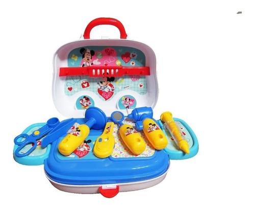 valija doctor con accesorios mickey disney zippy edu