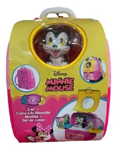 valija doctora minnie mouse 2 en 1 mochila 9205 by creciendo