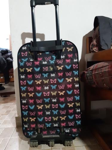 valija estampada poco uso