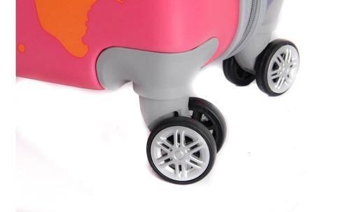 valija grande 28 4 ruedas 360 candado c  envio gratis