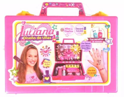 valija juliana diseño de uñas c/esmaltes de verdad chica tv