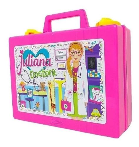valija juliana doctora chica con 18 accesorios d012