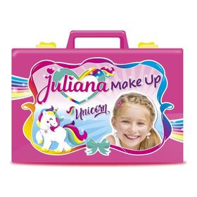 Valija Juliana Make Up Maquillaje Unicornio Chica Original