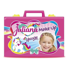 Valija Juliana Make Up Unicornio Original Casa Valente