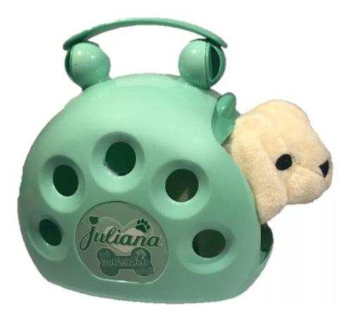 valija juliana mi mascota mini perrito peluche babymovil