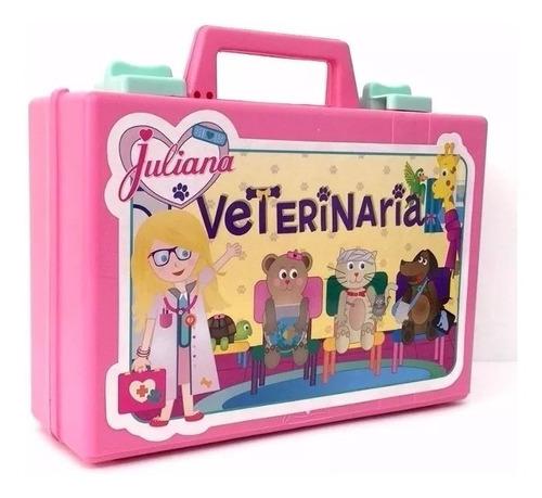 valija juliana veterinaria chica con accesorios original