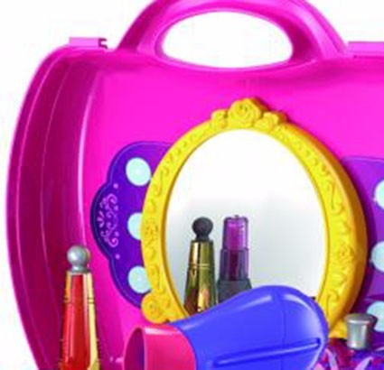 valija love 7951 mi primer mini tocador nena - 21 accesorios