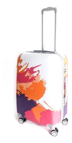 valija mediana 24 4 ruedas 360 candado colores