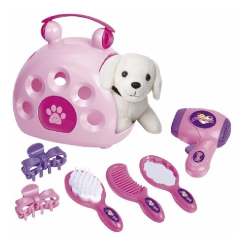 valija porta mascota juliana mi mascota canil con accesorios