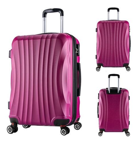 valija rígida mediana 24 -resistente impermeable 4 ruedas lg