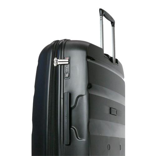 valija rígida spin air expansible negro cabina samsonite