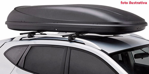valija techo portaequipaje 160 litros cerradura ruedas negra