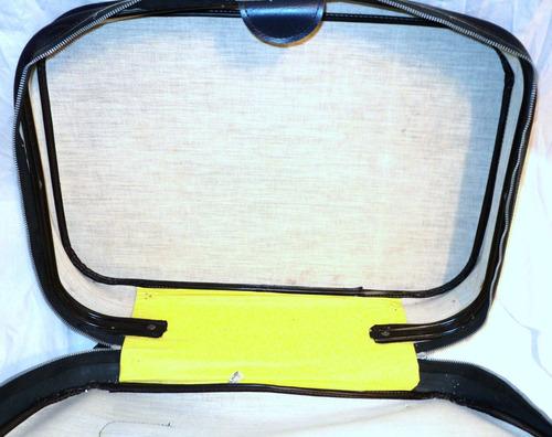 valija vintage cuerina 58cm x 40cm x 17cm